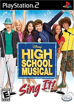 High school musical sing it OCCASION Playstation 2