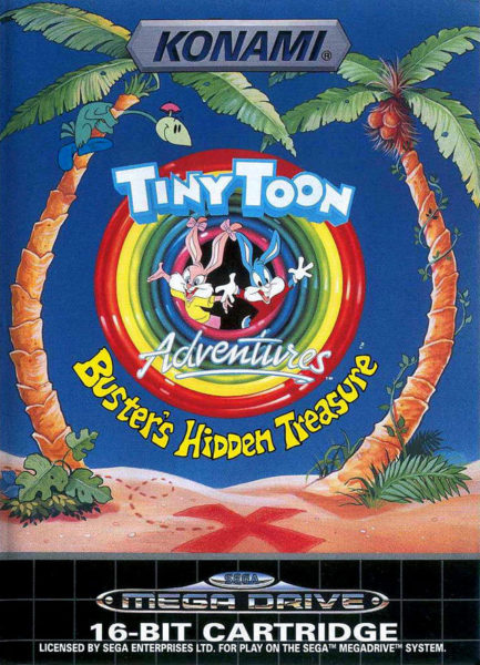Tiny Toon adventures OCCASION Mégadrive