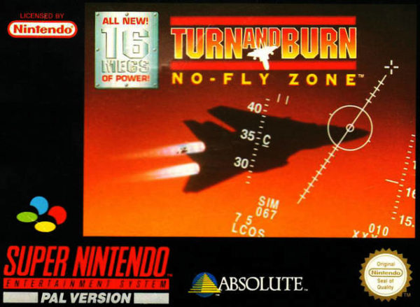 Turn and Burn OCCASION (Cartouche seule) Super nintendo