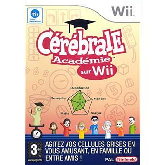 Cérébrale académie OCCASION Nintendo Wii