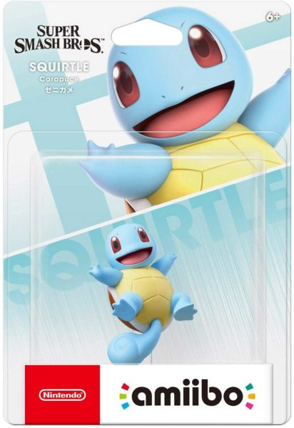 Super Smash Bros : Squirtle NEUF Amiibo