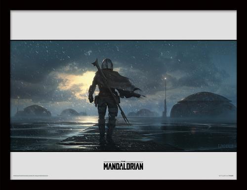 Star Wars : Mandalorian NEUF Cadre