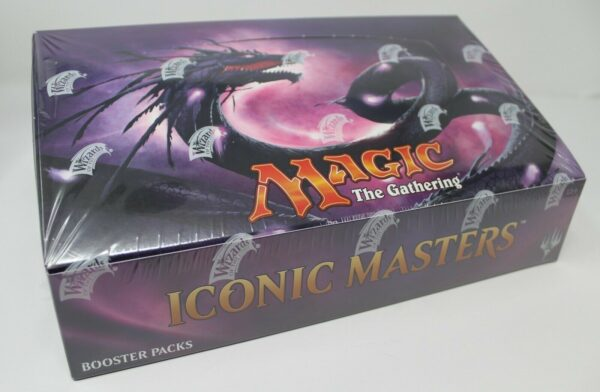 Iconic Masters Boite De Boosters VO NEUF Magic The Gathering