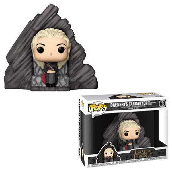 63 – Game Of Thrones : Daenerys On Dragonstone NEUF Funko POP!