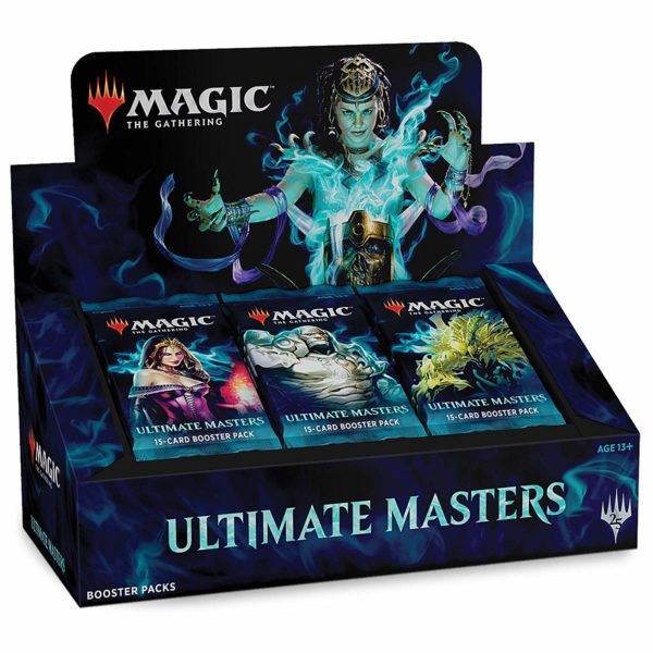 Ultimate Masters Booster Box VO NEUF Magic The Gathering