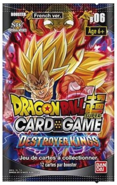 Destroyer Kings Boosters VF NEUF Dragon Ball