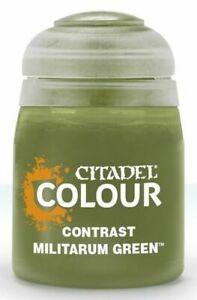 Citadel Contrast 18ml – Militarum Green NEUF Citadel
