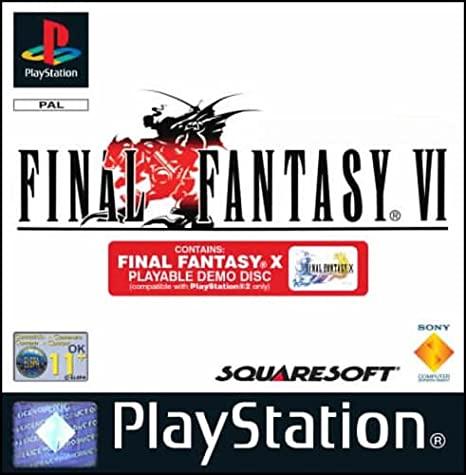 Final Fantasy VI OCCASION Playstation 1