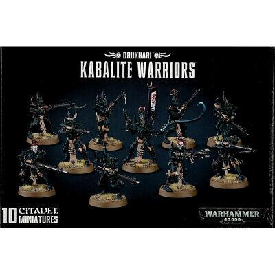 Drukhari Kabalite Warriors NEUF Warhammer 40000