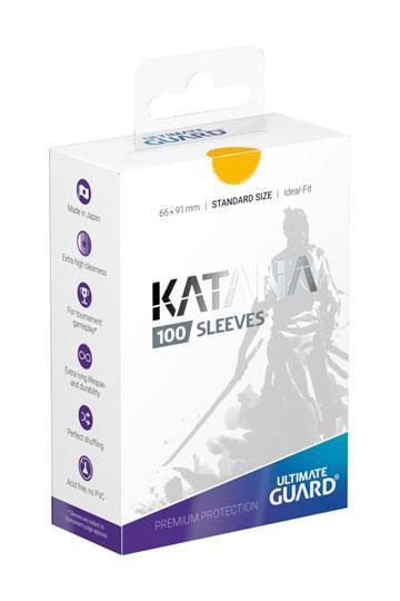 UG 100 Sleeves Katana Standard Jaune NEUF Accessoires