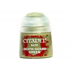 Citadel Base 12ml – Death Guard Green NEUF Citadel