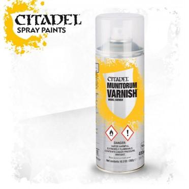Citadel Spray – Munitorum Varnish NEUF Citadel
