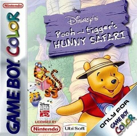 Le safari de Winnie l'ourson OCCASION Game boy color