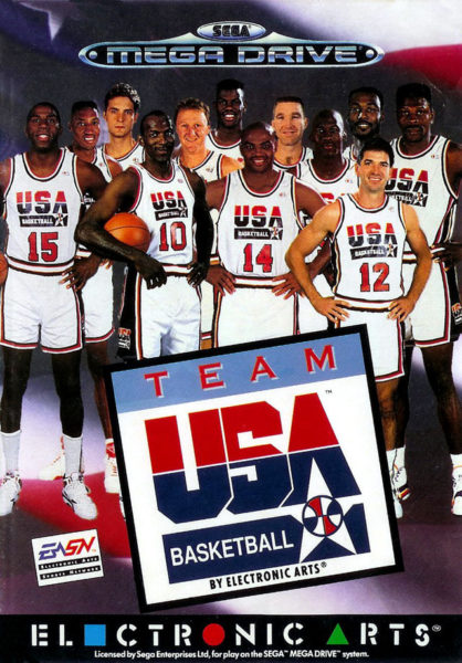 Team USA basketball OCCASION Mégadrive