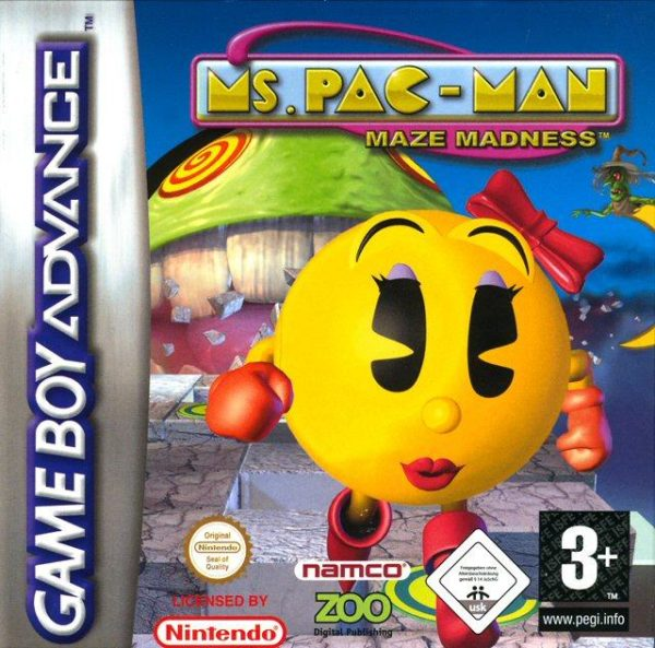 MS Pac-Man OCCASION Gameboy advance