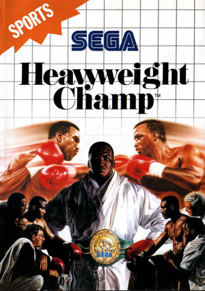 Heavyweight champ OCCASION Sega master system