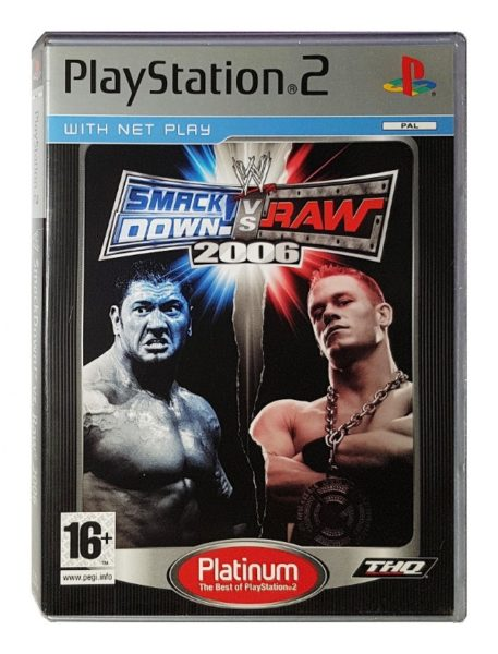 Smack down vs raw 2006 OCCASION Playstation 2