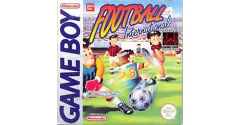 Football international OCCASION Game boy