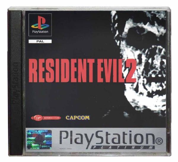 Resident Evil, 2 Platinium OCCASION Playstation 1
