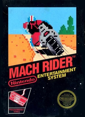 Mach rider OCCASION (Cartouche seule) Nintendo Nes