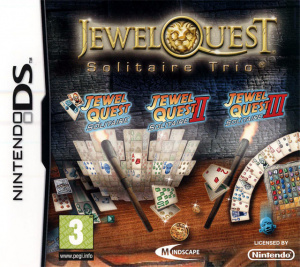 Jewel Quest Solitaire Trio OCCASION DS