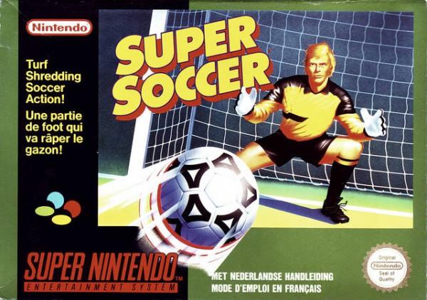 Super soccer OCCASION Super nintendo