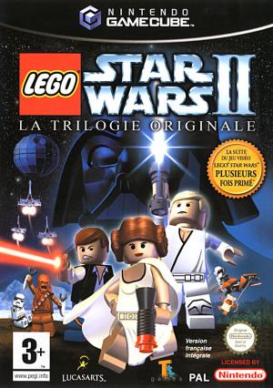 Star ars II La trilogie originale Gamecube
