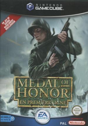 Medal of honor en première ligne Gamecube