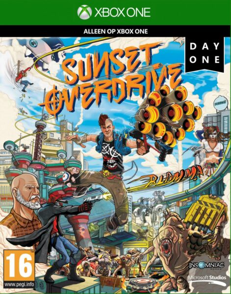 Sunset Overdrive OCCASION Xbox one