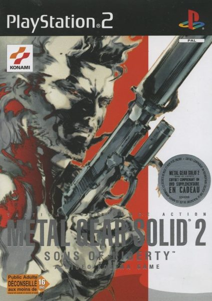 Metal gear solid 2 OCCASION Playstation 2