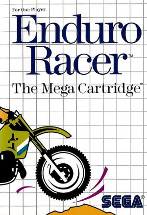 Enduro racer OCCASION (Cartouche seule) Sega master system