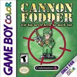 Cannon Fodder OCCASION (Cartouche seule) Game boy color