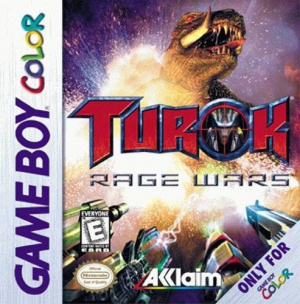 Turok Rage Wars OCCASION (Cartouche seule) Game boy color