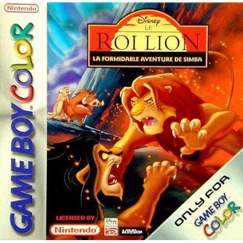 Le Roi Lion La Formidable Aventure de Simba OCCASION (Cartouche seule) Game boy color