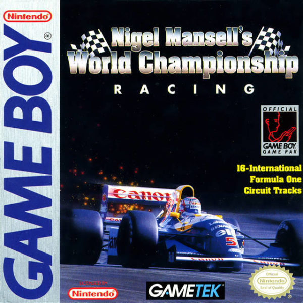 Nigel Mansell's World Championship OCCASION (Cartouche seule) Game boy
