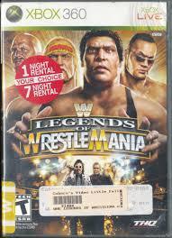 Wrestlemania OCCASION Xbox 360