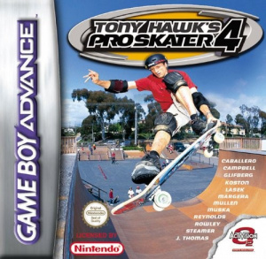Tony hawk's pro skater 4 OCCASION (Cartouche seule) Gameboy advance