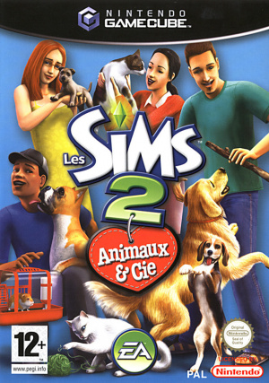 Les sims 2 Animaux and Cie OCCASION Gamecube