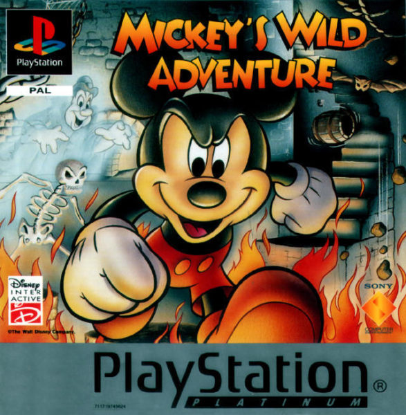 Mickey Wild OCCASION Playstation 1