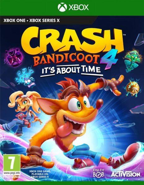 Crash Bandicoot 4 NEUF Xbox one