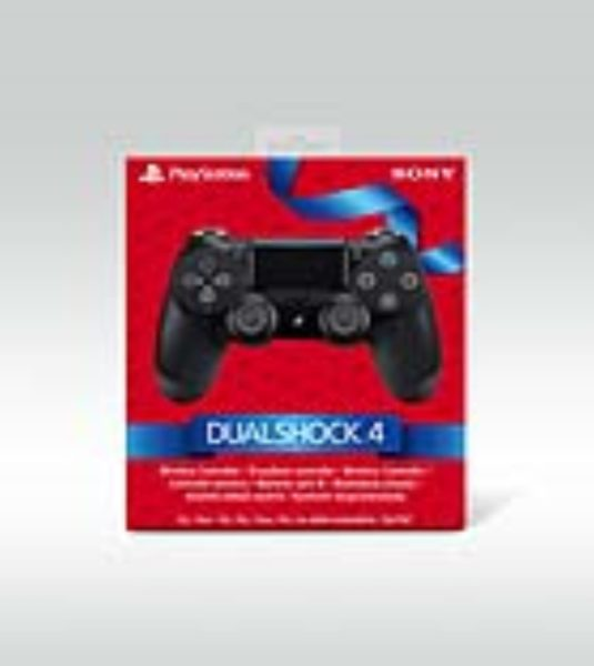 Control Pad Dualshock 4 V2 Black Holiday NEUF Playstation 4
