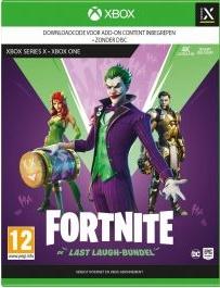 Fortnite The Last Laugh Bundle NEUF Xbox Series
