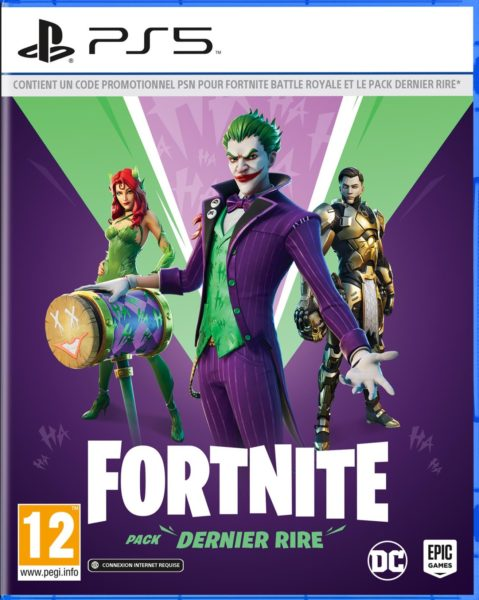 Fortnite The Last Laugh Bundle NEUF Playstation 5