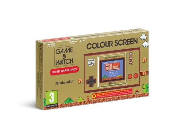Console Game And Watch Super Mario Bros Edition NEUF Autres