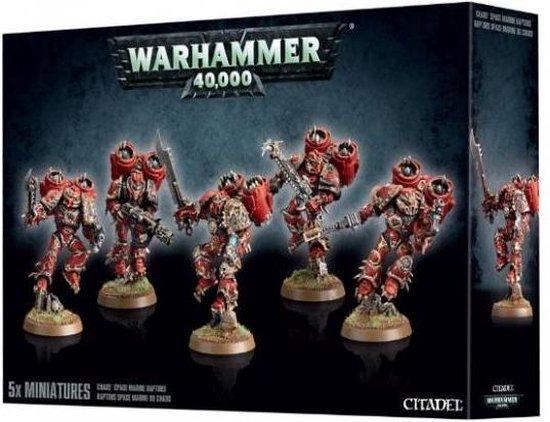 Chaos Space Marine Raptors NEUF Warhammer 40000