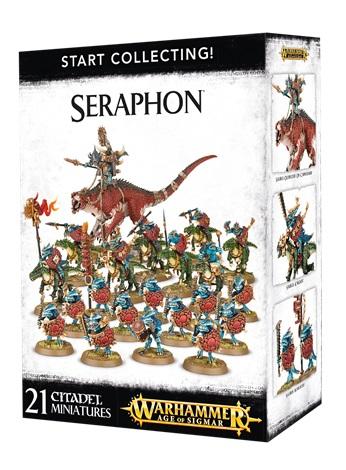 Start Collecting! Seraphon NEUF Warhammer Age Of Sigmar