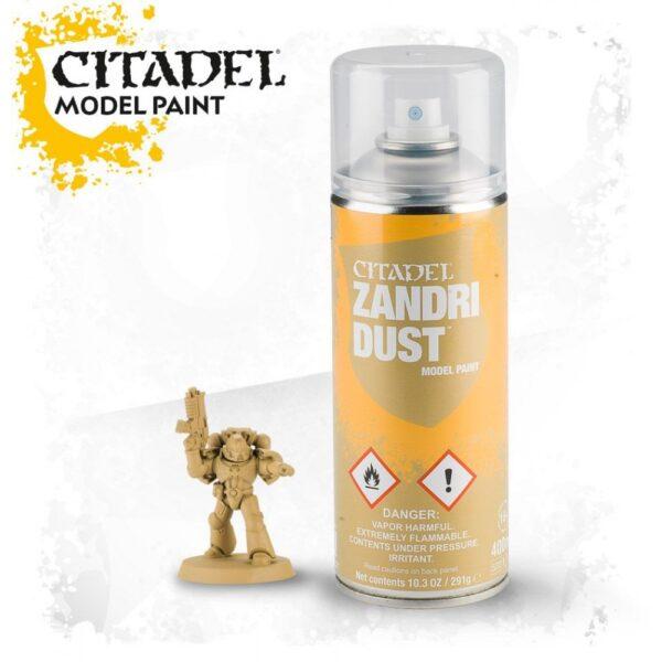 Citadel Spray – Zandri Dust NEUF Citadel
