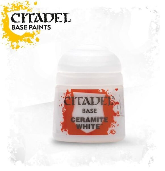 Citadel Base 12ml – Ceramite White NEUF Citadel