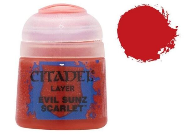 Citadel Layer 12ml – Evil Sunz Scarlet NEUF Citadel