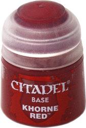 Citadel Base 12ml – Khorne Red NEUF Citadel